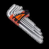 Tulips набор ключей TORX, CrV сталь, сатин.покрытие (9 шт), IK12-959