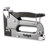 Tulips степлер для скоб тип 140 (10.6ммх1.2мм) и гвоздей 6-14 мм, металл. корпус, регулировка удара IP11-911