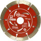 Диск алмазный Trio-Diamond Segment Grand Hot press 125*10*22.23 мм