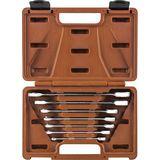 Ombra Набор ключей гаечных комбинированных трещоточных SNAP GEAR, 8-19 мм, 7 предметов 935007 55379