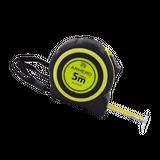 Armero Рулетка 5м x 19мм, два фиксатора, флуоресцентное покрытие полотна AI01-251
