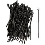 Хомуты нейлоновые, черные д/проводов 100 шт.,  80х2,5 мм FIT IT 60388