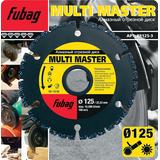 Fubag Алмазный диск Multi Master 125/22.2 88125-3