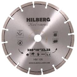 Диск алмазный Trio-Diamond Hilberg Hard Materials Лазер 500*10*25.4/12 мм