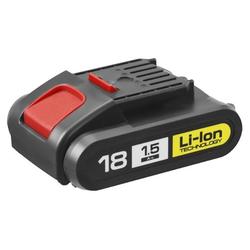 "Аккумуляторная батарея ЗУБР ""М1"" 18 В, Li-Ion, 1.5 Ач, АКБ-18-Ли 15М1"