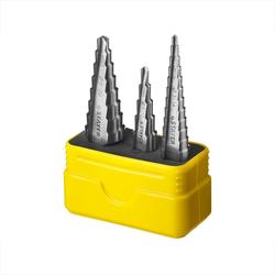 Набор ступенчатых сверл по металлу STAYER 29660-3-20-H3