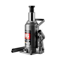 Домкрат гидравлический бутылочный, 16т, 220-420 мм, MIRAX 43260-16