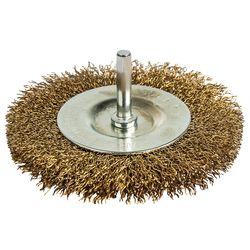 Кордщетка для дрели мягкая ПРАКТИКА радиальная 100 мм, хвост 6 мм, 773-408