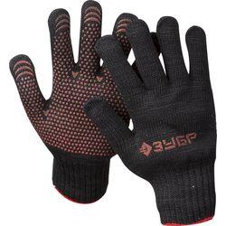 Перчатки ЗУБР МАСТЕР утепленные, 7 класс, трикотажные, L-XL, 11462-XL