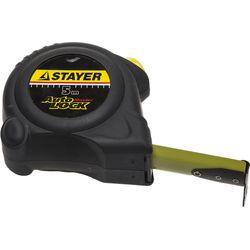 "Рулетка STAYER ""MASTER"" AUTOLOCK, автостоп, 5м/25мм, 2-34126-05-25_z01"