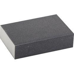 """Губка шлифовальная ЗУБР """"ЭКСПЕРТ"""" 4 стороны SiC, средняя жесткость, Р180, 100х68х26 мм, 35612-180"""
