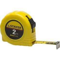 """Рулетка STAYER """"МASTER"""" """"MaxTape"""", 2м/16мм, 34014-02-16"""