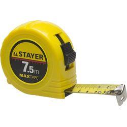 """Рулетка STAYER """"МASTER"""" MaxTape, 7м/25мм, 34014-07-25"""