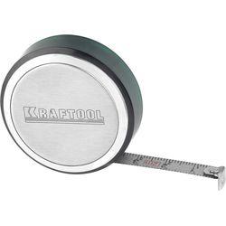 Рулетка KRAFTOOL, SuperKompakt, корпус из нержавеющей стали, 2м/8мм, 34147-02
