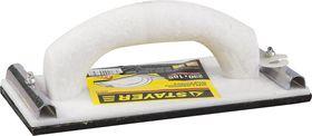 Терка STAYER для шлифования с металлическим фиксатором, 105x230мм, 3569-10