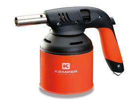 Kemper лампа паяльная газовая 820A для прокалываемого баллона, пьезо поджиг, система подогрева газа KG01-041