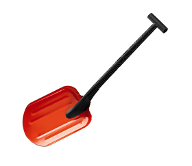 Автомобильная снеговая лопата Снегирь, стальная с пластиковой рукояткой, 260 мм, СИБИН 421840