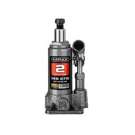 Домкрат гидравлический бутылочный, 2т, 148-278 мм, MIRAX 43260-2