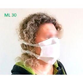 ML20 маска лицевая одноразовая объемная, увеличенная плотность 70 г/м2 Эксперт