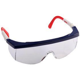 Очки STAYER защитные с регулируемыми по длине и углу наклона дужками, поликарбонатные прозрачные линзы, 2-110481