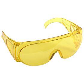 """Очки STAYER """"STANDARD"""" защитные, поликарбонатная монолинза, желтые, 11042"""