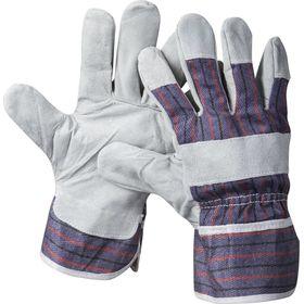 """Перчатки STAYER """"MASTER"""" рабочие комбин.кожаные из спилка, XL, 1130-XL"""