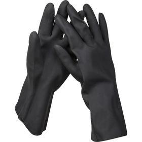 Перчатки KRAFTOOL противокислотные, неопреновые, повыш.прочности, х/б напыление, р-р XL, 11282-XL