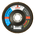 Круг лепестковый циркониевый Andre Pro Line ZR 127 x  22,3 мм P120